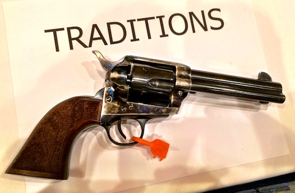 The brand spanking new Traditions .357 Magnum single action revolver.