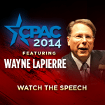 NRA's Wayne LaPierre's CPAC Speech Live Here Today