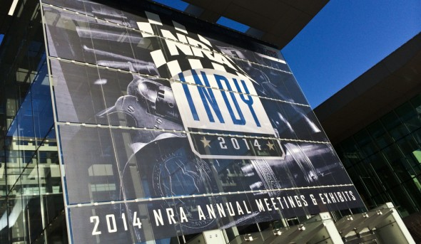 The NRA Annual Meeting 2014, Indianapolis, IN.