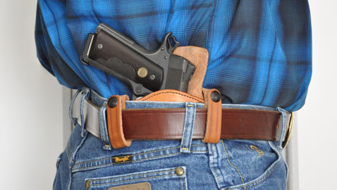 Here's the Cuda in action as an IWB holster.