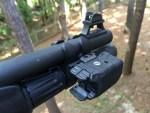 Shooting the Beretta 1301 Tactical Shotgun in the Dark