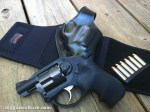 Galco Ankle Glove Ruger LCR 357 Hornady Critical Defense