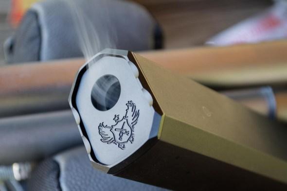 The SilencerCo Osprey is a smokin' hot bird! Yeah, baby, yeah!
