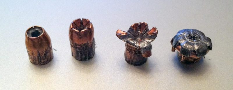 Once you get away from controlled gelatin testing scenarios, fired bullets tend to look more like this.