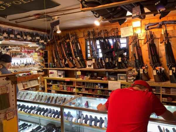 Gun Store visit
