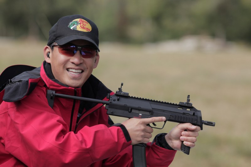 Pro shooter and Top Chef Chris Cheng