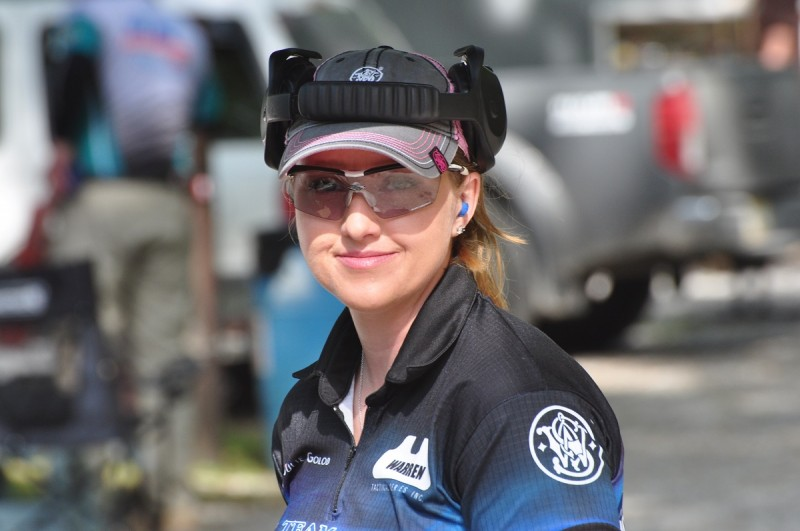 Though she's coming into this year's Cup fighting injuries, Smith & Wesson shooter Julie Golob could very well take the women's title.