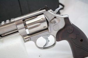 Both hammer and trigger are chromed.