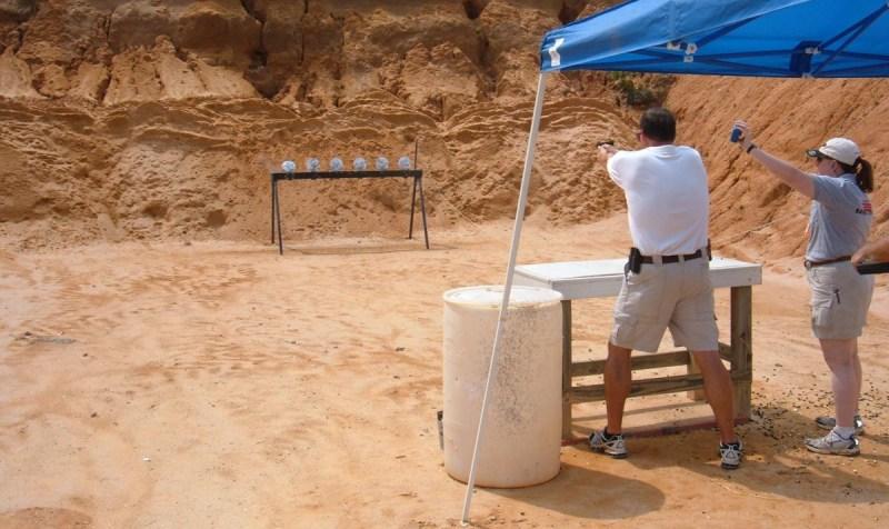 Self-defense training? No. A fun way to improve gun-handling skills? Yes.