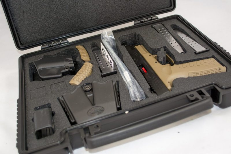 Your factory gun case may be legal to use on the airlines already, like this Springfield Armory case.