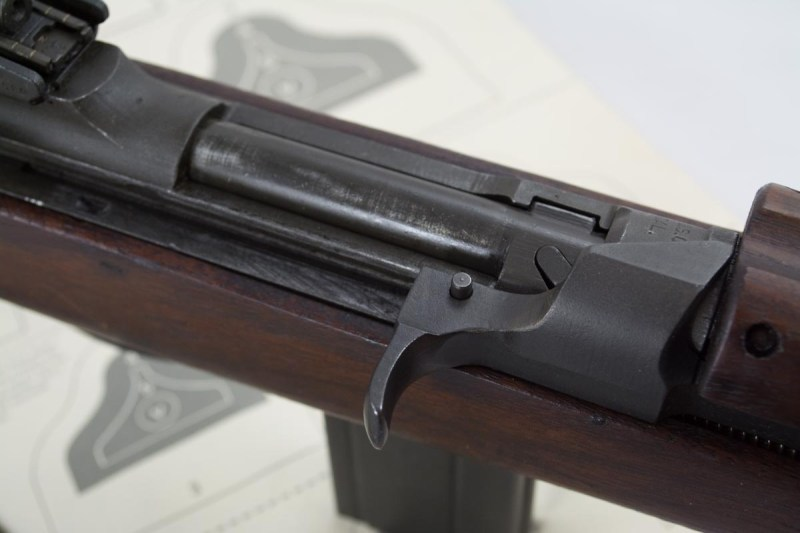 """This short stroke piston rifle has enough similarities that it was often called """"the baby Garand"""""""
