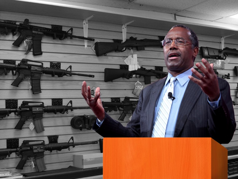 Presidential Candidate Ben Carson. Image: OutdoorHub.com