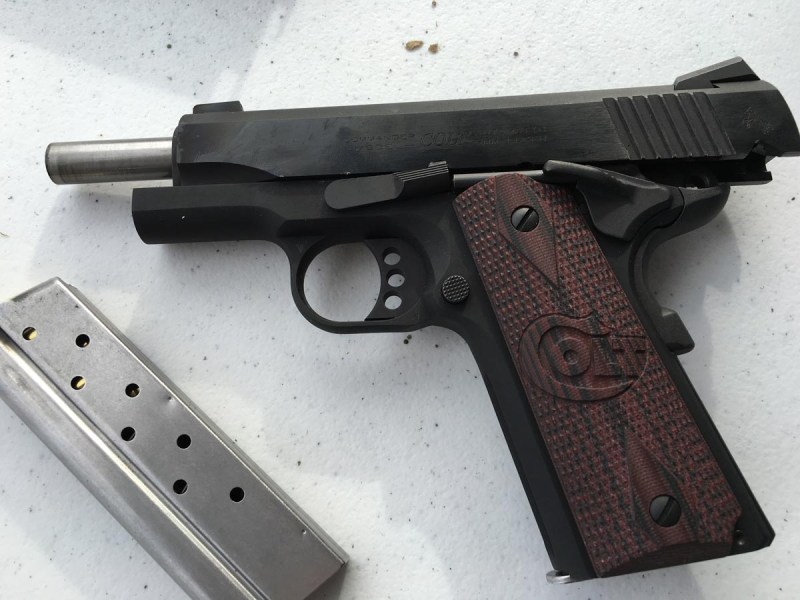 Colt's new Lightweight Commander. This one is chambered in 9mm.