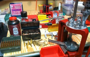 How to reload ammunition