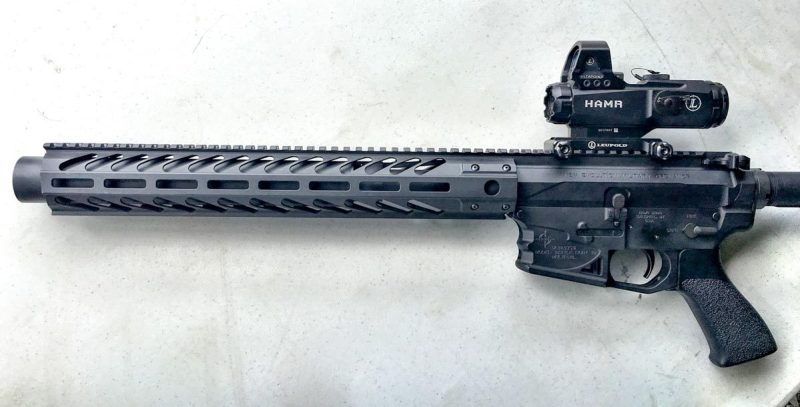 Gemtech's Integra is a suppressed upper receiver ready to go.