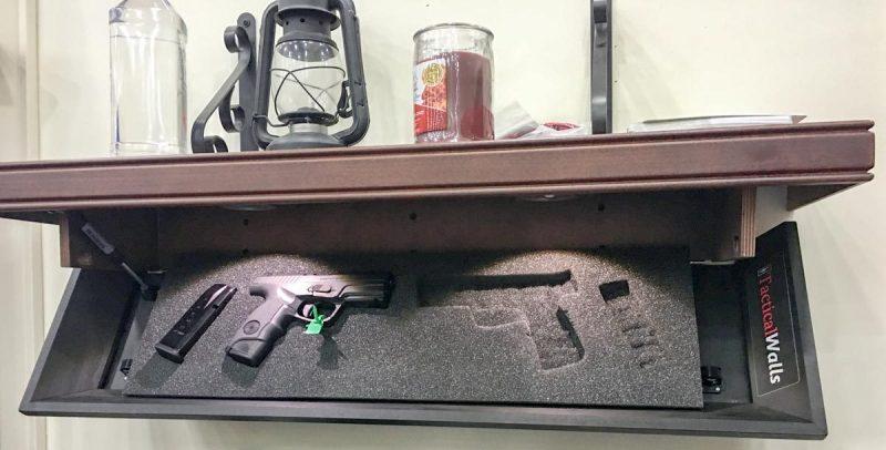 The Tactical Walls Concealment Shelf.