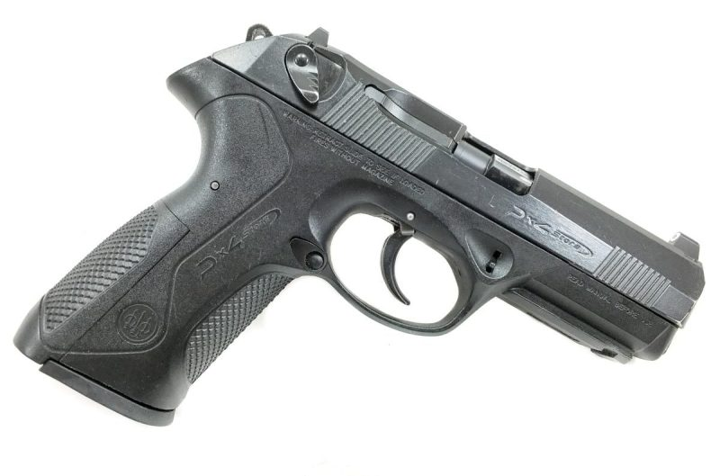 Beretta PX4 Storm, full-size, .40 S&W, right side.