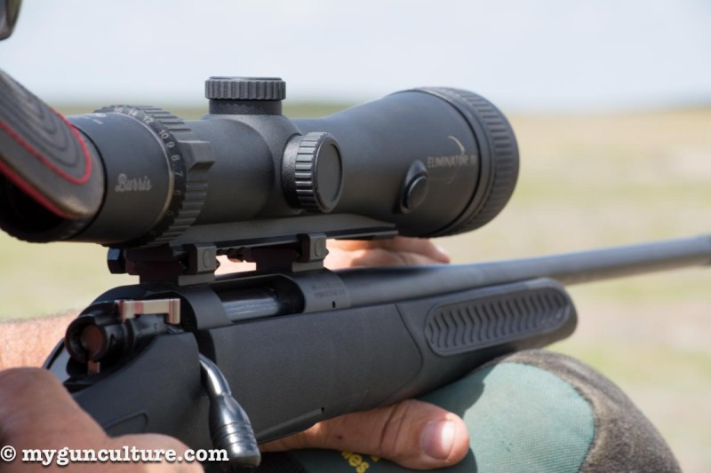 The Burris Eliminator scope contains an internal laser rangefinder. I found it to be dead on for long range shots.