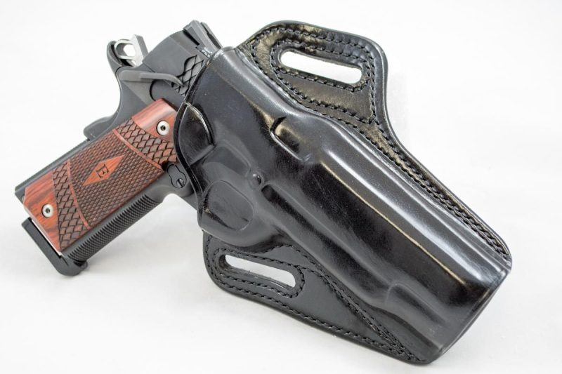 Galco's Concealable Belt Holster does a great job of keeping a large gun in close.