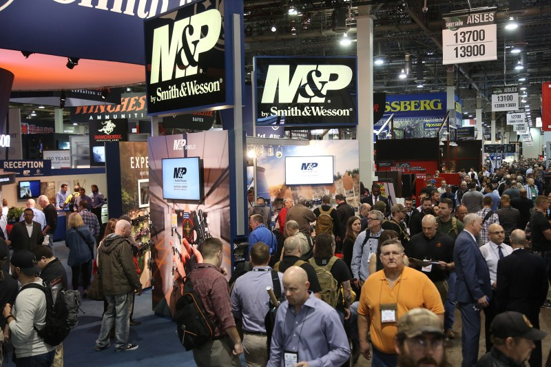 SHOT Show is epic. This photo captures about .00001% of the overall scale of the event.