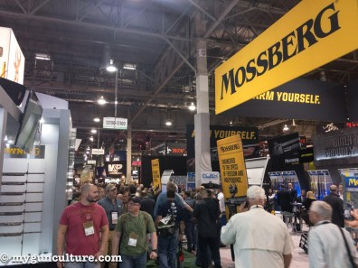 Everything you can see in this photo represents about 1% of SHOT Show. Yes, it's that big.