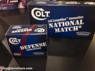 New National Match and Defense ammunition from Colt is made by Doubletap Ammunition.