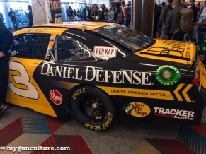 The show was full of vehicles - everything from this Daniel Defense NASCAR model to military trucks and offroad stuff.