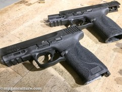 """A pair of 4.25"""" barrel models in 9mm and .40 S&W"""