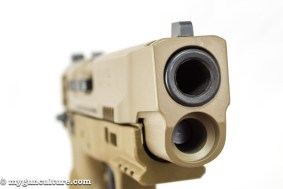 """The Smith & Wesson M&P 2.0 9mm 5"""" model."""