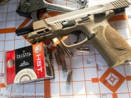 The Smith & Wesson M&P 2.0 pistols also performed well with Federal Premium's HST self-defense ammo.
