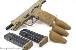 One of the changes in the M&P 2.0 line is addition of a fourth grip size option.