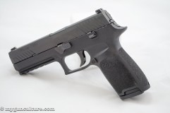 Sig Sauer P320 full size, left side.
