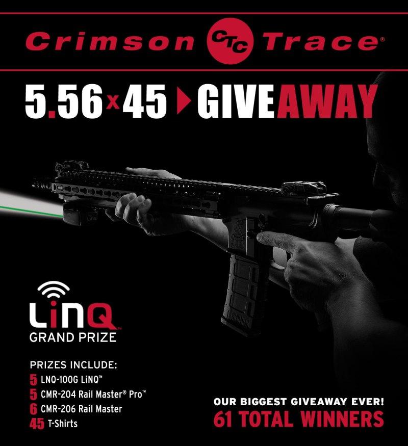 Crimson Trace 5.56x45 Giveaway