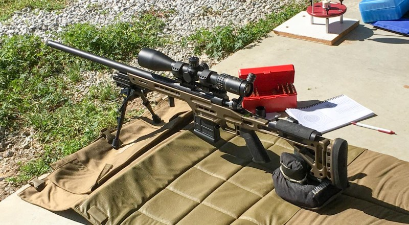 For this NRA High Power F-Class competition, I used this Masterpiece Arms BA Lite PCR Competition model chambered in 6.5 Creedmoor.