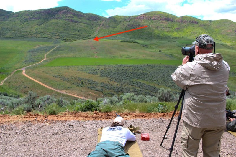 How far away is this target? With a half-decent scope you can find out.