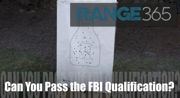 Can You Pass the FBI Qualification [VIDEO]