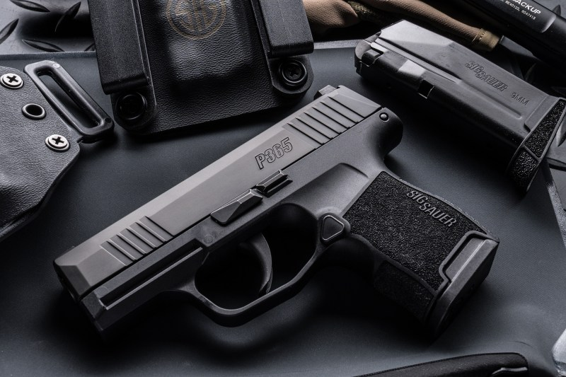 The new P365 is a striker-fired model built for carry.