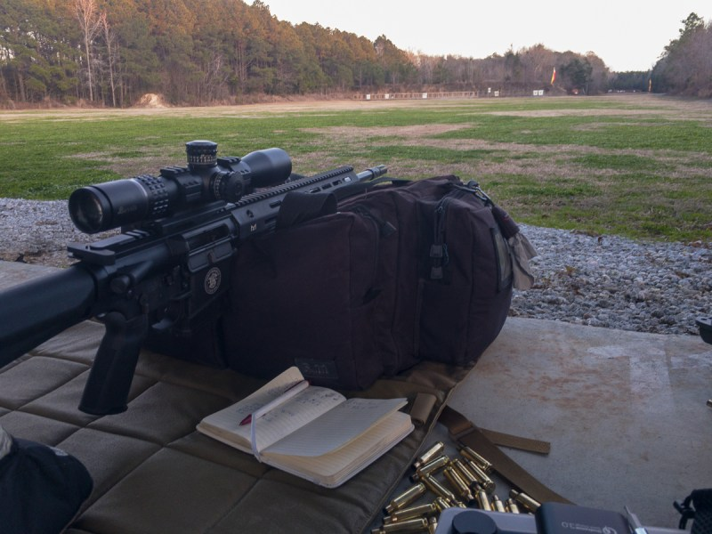 """So what are the real differences between """"big"""" and """"little"""" AR rifles at longer range? Let's find out."""