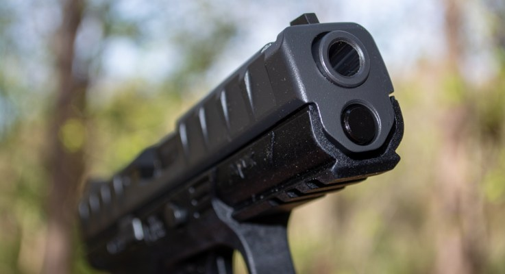 A Look at Beretta's Optics-Ready APX Pistol