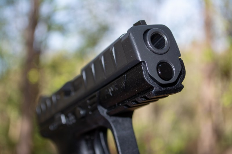 The Beretta APX RDO (Red Dot Optic) Model.