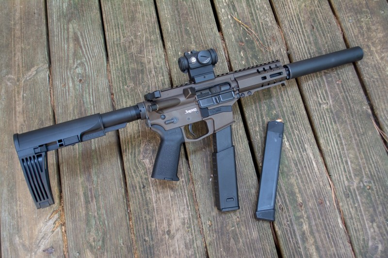 The ultra-short Banshee is a perfect suppressor platform.