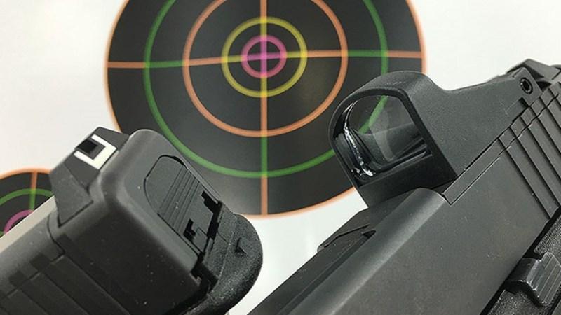 optical handgun sights