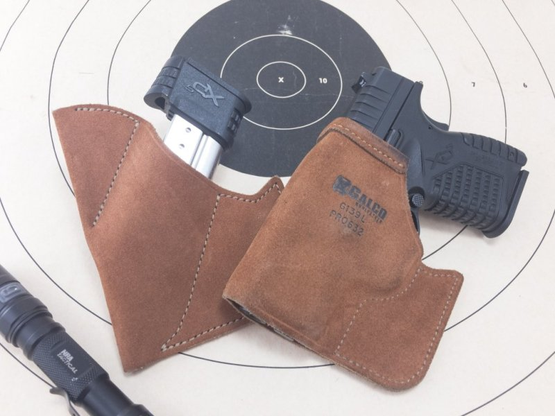 When I pocket carry this Springfield Armory XD-S I use a pocket magazine carrier on the opposite side.