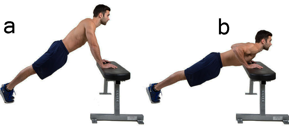 gym chest chair menards outdoor cushions 6 best pushups exercises to build stronger and beautiful my incline push ups are almost similar basic all you need a or bench desk so that can rest your hands against