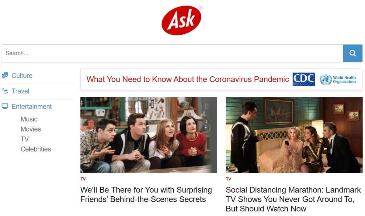 ask - quora alternative