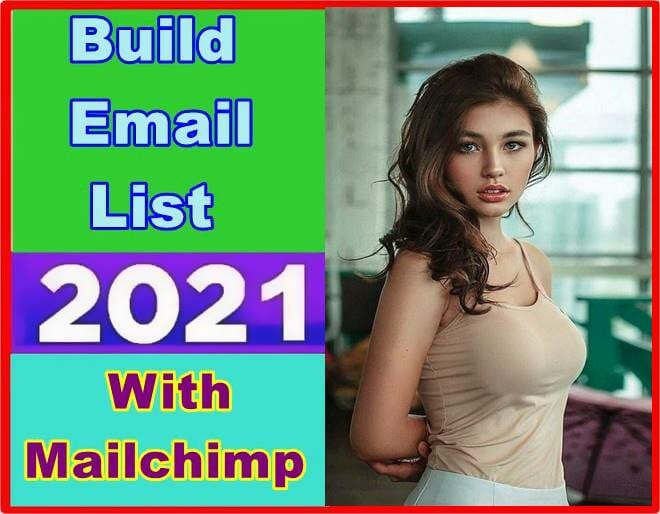 Email List With Mailchimp