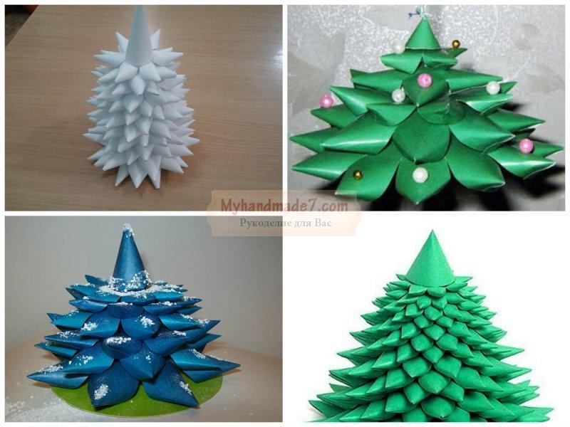 Pohon Natal Dari Origami