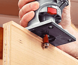 how to use a trim router