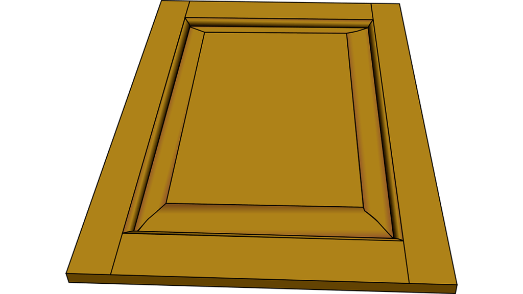 How to make cabinet door