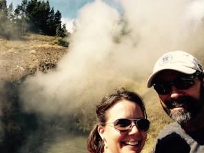 Yellowstone selfie